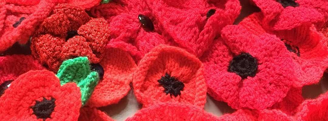 Knitted poppies to remember saddleworth life knitted poppies to remember mightylinksfo
